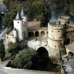 Vestige des remparts médiévaux de Metz